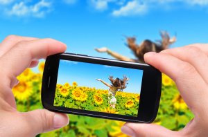 Instagram photos of sunflowers and girl