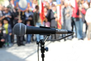 speaking engagements as a method of making yourself more of an expert